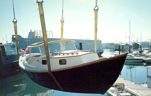 Custom Wood Boatbuilding The St Pierre Dory Launch